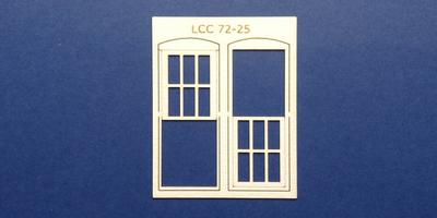 LCC 72-25 O gauge square window type 2